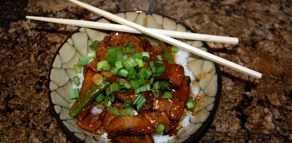 Mongolian Beef With Grilled Rib Eye