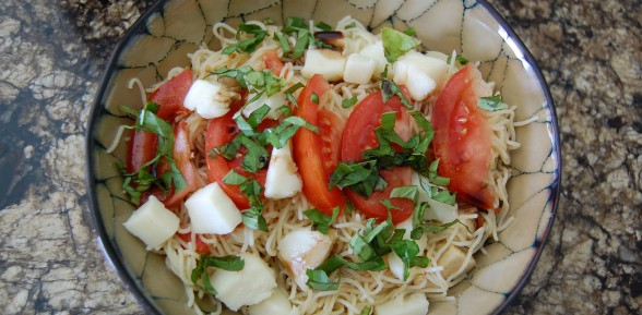Angel Hair Caprese Pasta